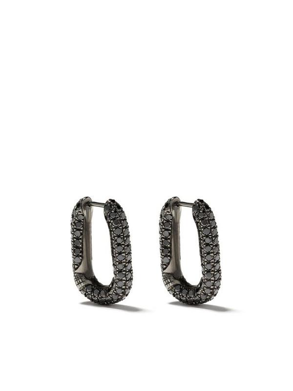 Selim Mouzannar diamond Link earrings in silver