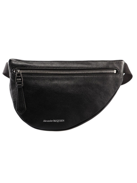 Alexander McQueen Mini Bum Bag in black
