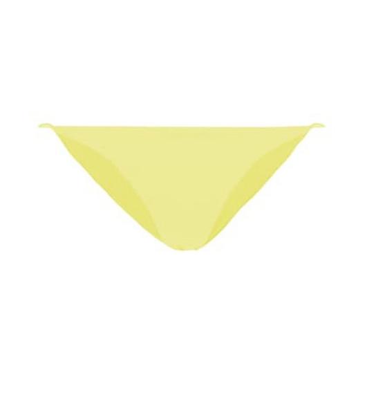Jade Swim Exclusive to Mytheresa – Micro Bare Minimum bikini bottoms in yellow