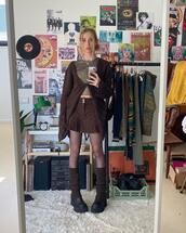 skirt,top,sweater