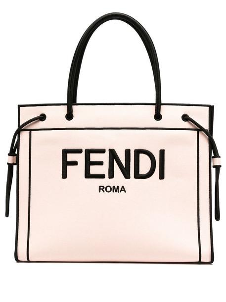 large Fendi Roma shopper bag in pink