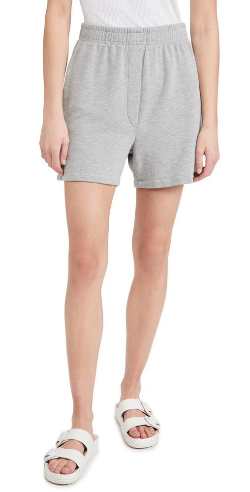 SUNDRY Boyfriend Shorts in grey