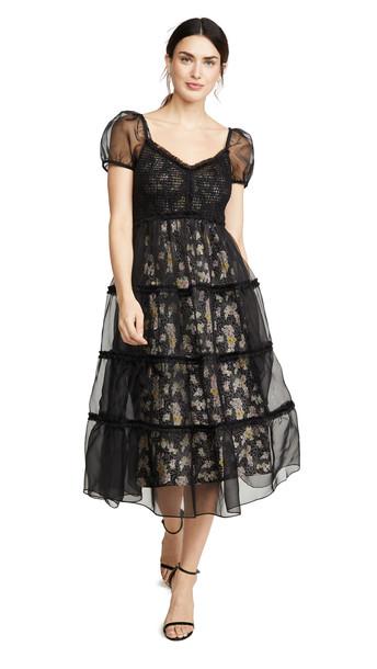 Cinq a Sept Quinn Dress in black / multi