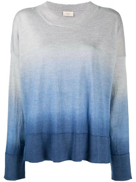 Altea ombré knit jumper in grey