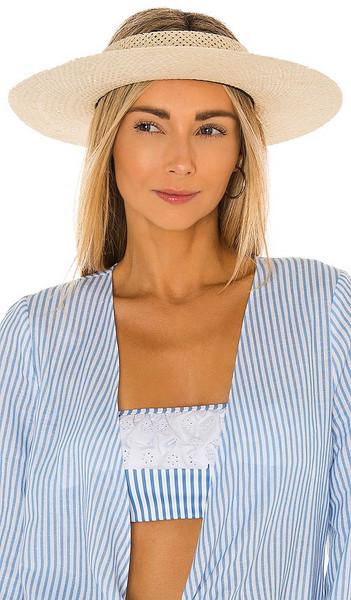 Janessa Leone Antoine Hat in Nude in natural