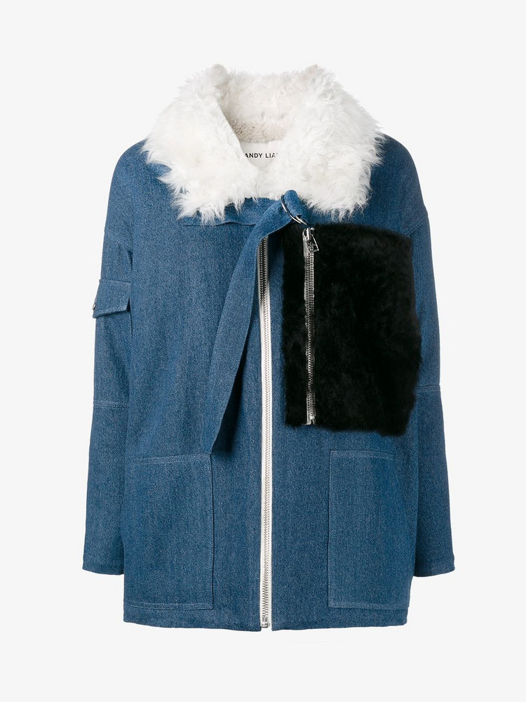 Sandy Liang Citroen jacket in blue