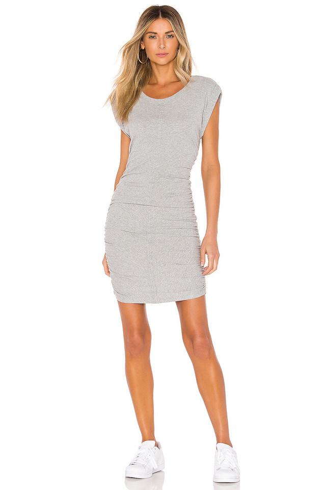 Splendid Casing Detailed Dress in gray