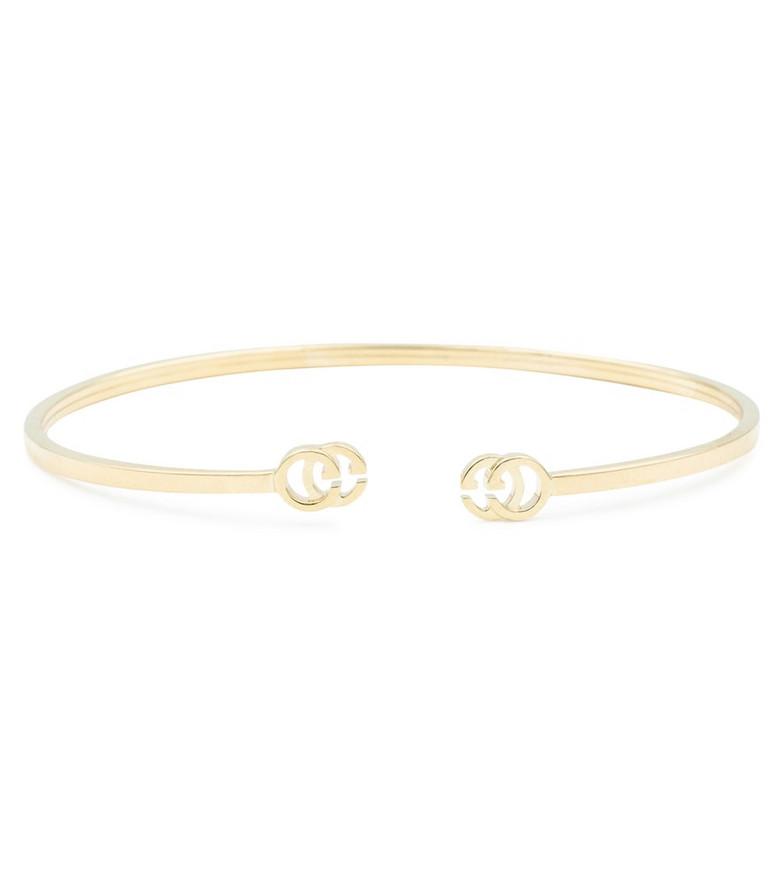 Gucci GG Running 18kt gold cuff bracelet