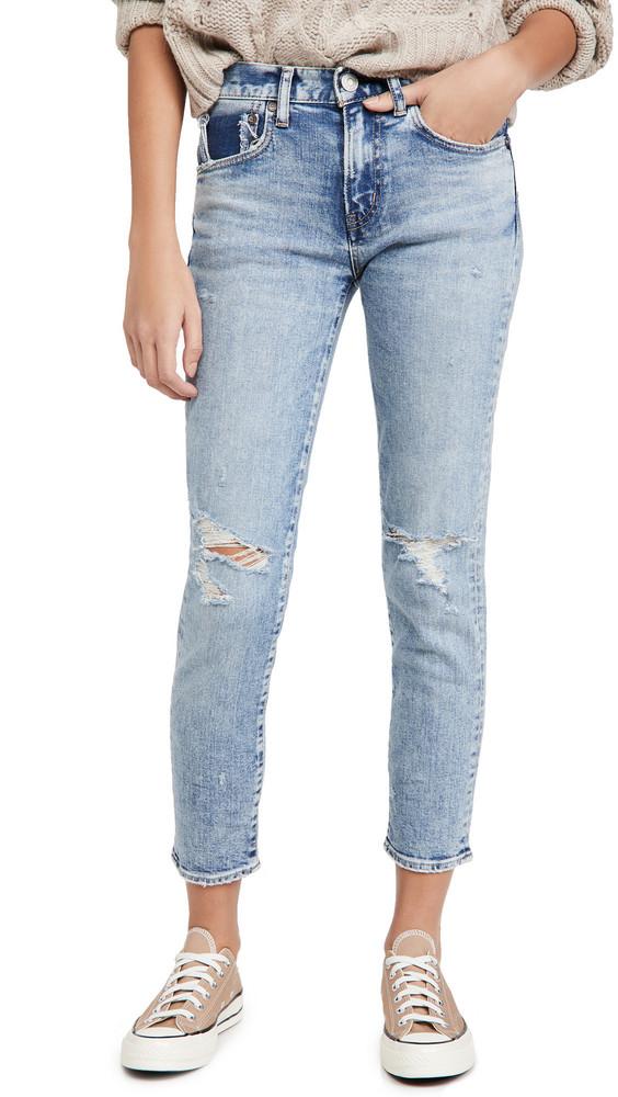 MOUSSY VINTAGE Billings Skinny Jeans in blue