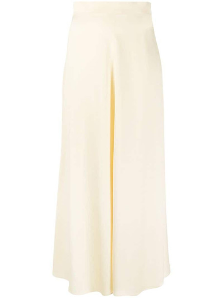 Emilio Pucci high-waist flared skirt in yellow