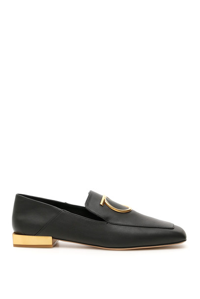 Salvatore Ferragamo Lana Loafers in black
