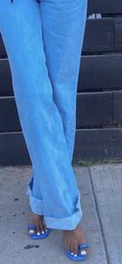 shoes,blue,sandal heels