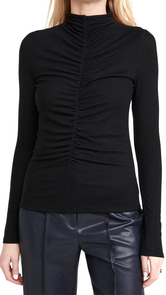 Veronica Beard Jean Theresa Turtleneck in black