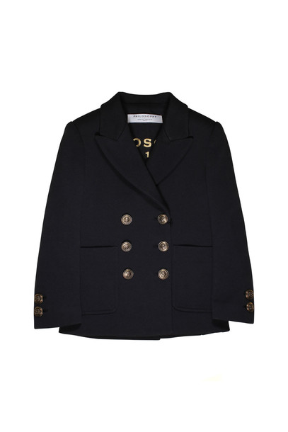 Philosophy di Lorenzo Serafini Kids Girl Black Jacket