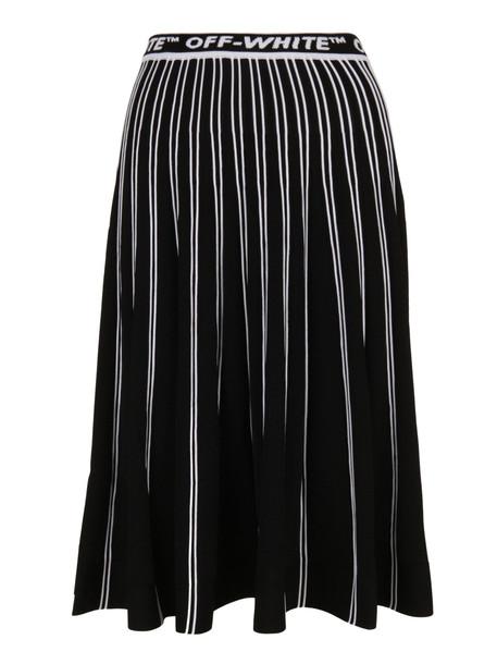 Off-white Skirt in nero
