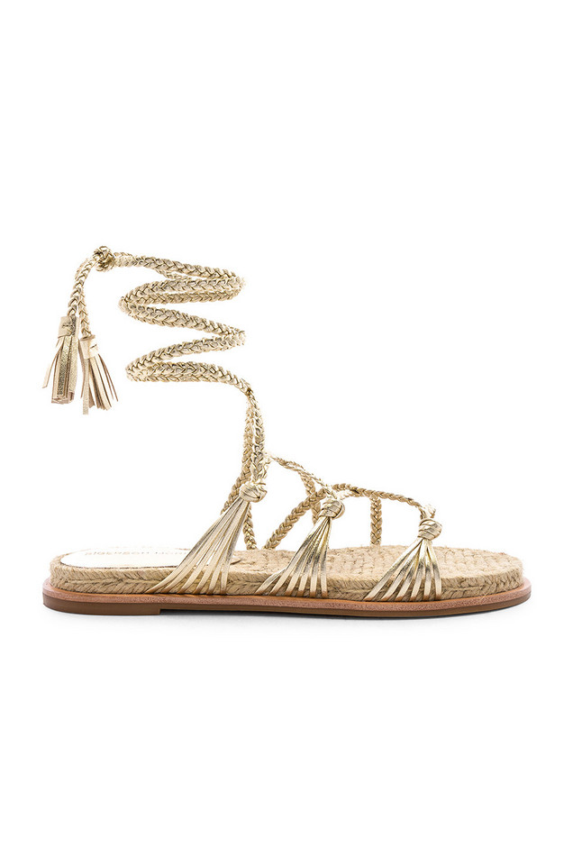 Sigerson Morrison James Sandal in gold / metallic