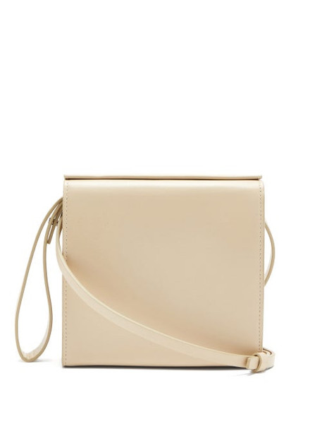 Aesther Ekme - Pouch Leather Bag - Womens - Ivory