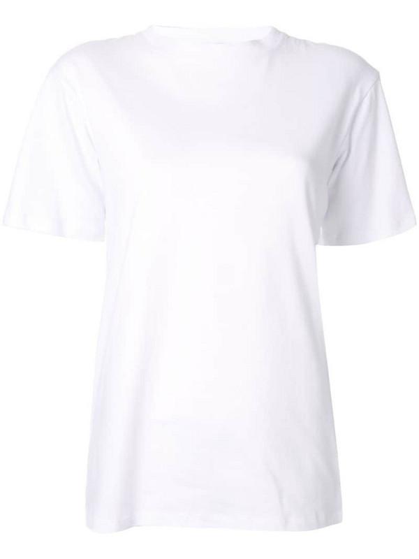 Macgraw Falling Heart T-shirt in white