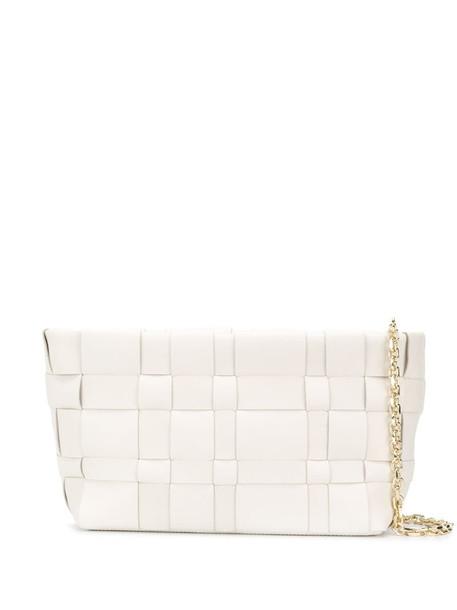 3.1 Phillip Lim Odita Lattice pouch in white