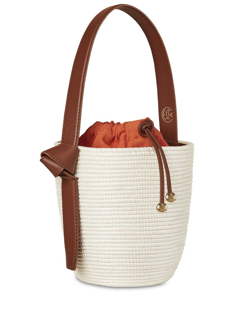 CESTA COLLECTIVE Lvr Exclusive Lunchpail Cotton Bag in orange / white