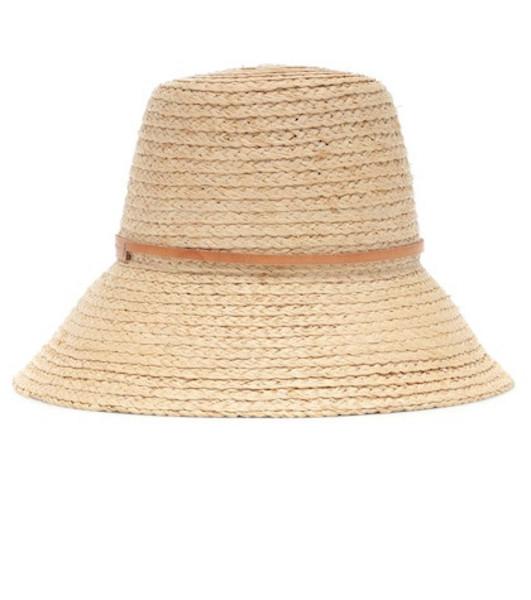 Lola Hats Exclusive to Mytheresa – Beehive raffia hat in beige