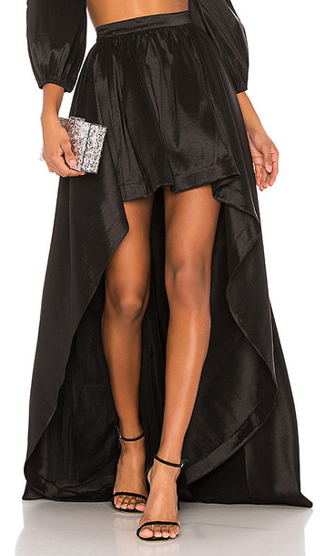 LIKELY X REVOLVE Cori Skirt in Black