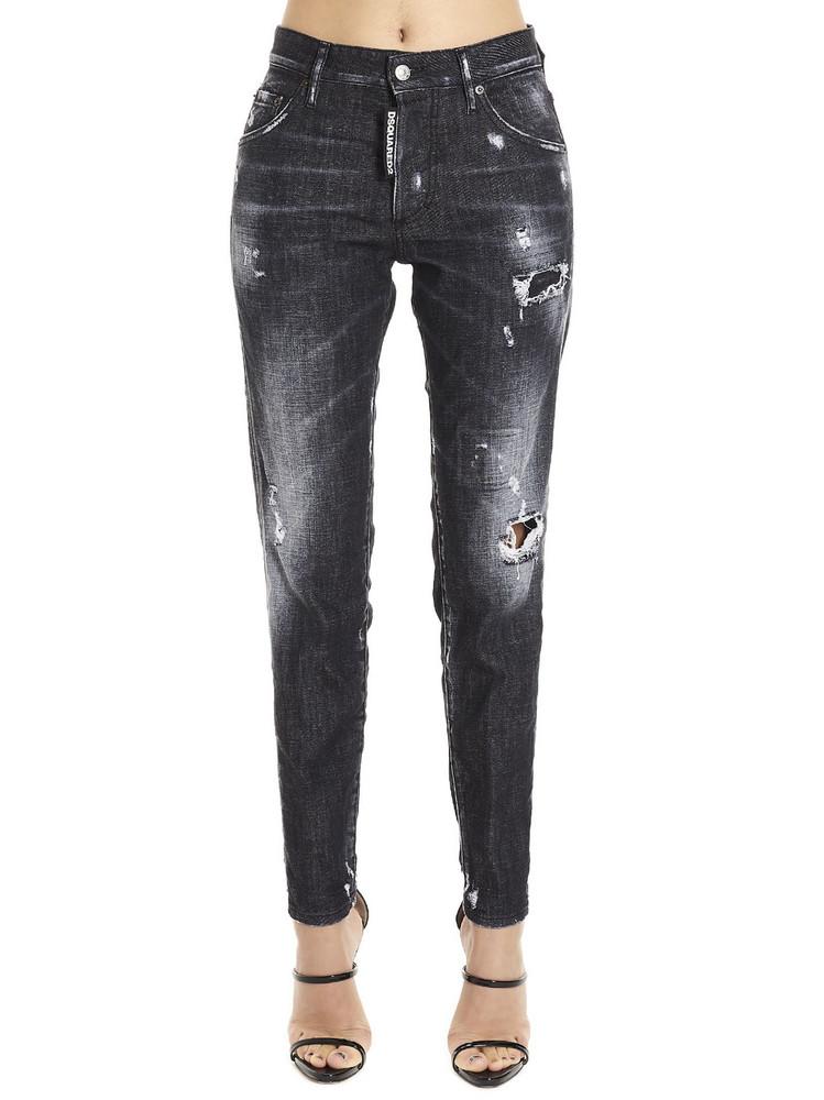 Dsquared2 skinny Dan Jeans in black