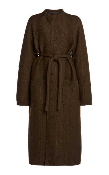 Haider Ackermann Raglan Wool Coat in neutral