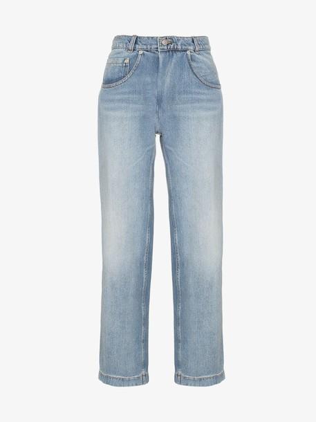 Magda Butrym Stillwater straight leg jeans in blue
