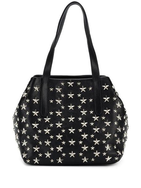 Jimmy Choo star stud tote bag in black
