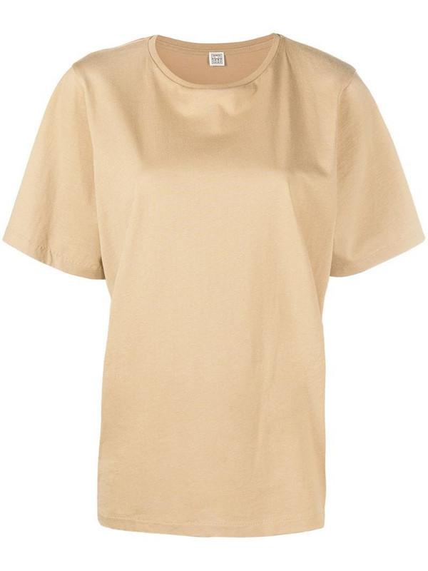 Totême relaxed-cut T-shirt in neutrals