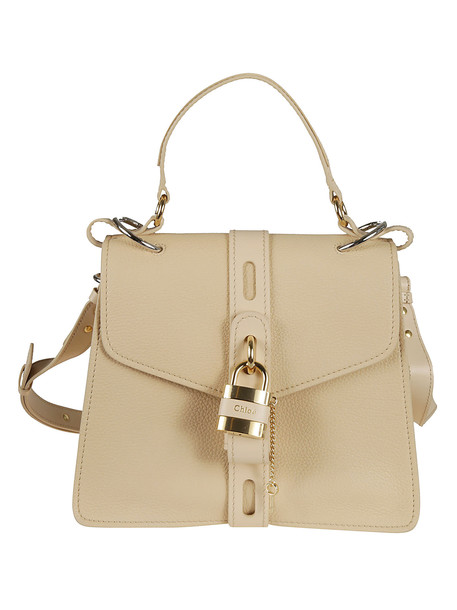 Chloé Chloé Aby Shoulder Bag in beige
