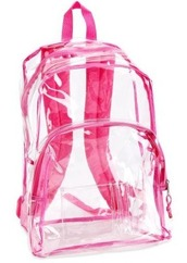 transparent,pink,backpack,bag