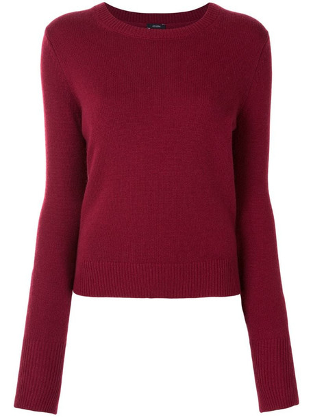 Joseph knitted jumper in red