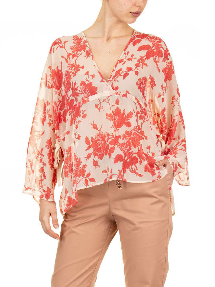 SEMICOUTURE Bonnie Blouse in red
