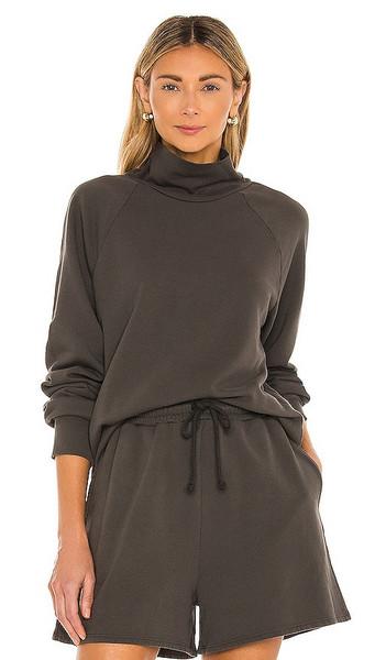 Lovers + Friends Lovers + Friends Sante Turtleneck Sweatshirt in Black