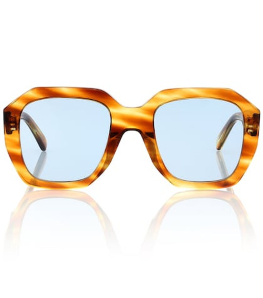 Celine Eyewear Oversized square sunglasses in brown