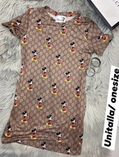 dress,mickey mouse