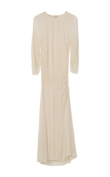 By Malene Birger Jessamine Crepe Jersey Dress Size: XXS in white
