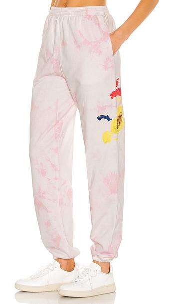 By Samii Ryan x Dessie Jackson Paint Palette Sweatpants in Pink