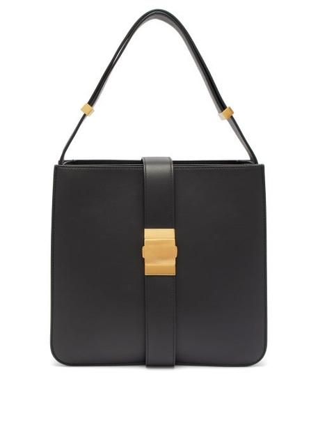 Bottega Veneta - Marie Leather Shoulder Bag - Womens - Black