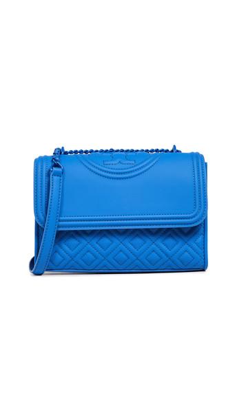 matte bag shoulder bag blue
