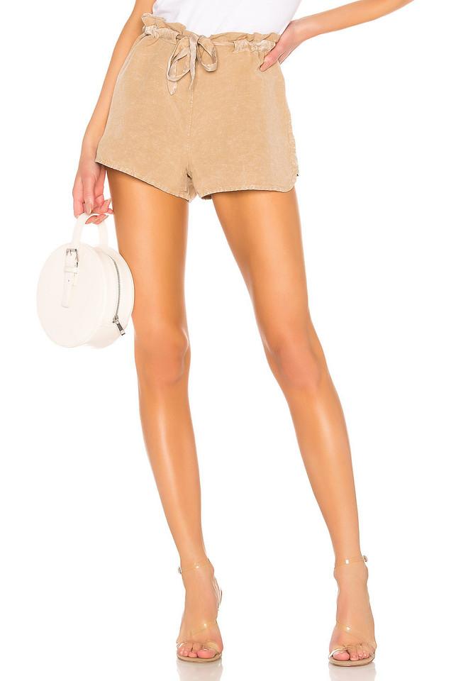 YFB CLOTHING Huron Short in tan