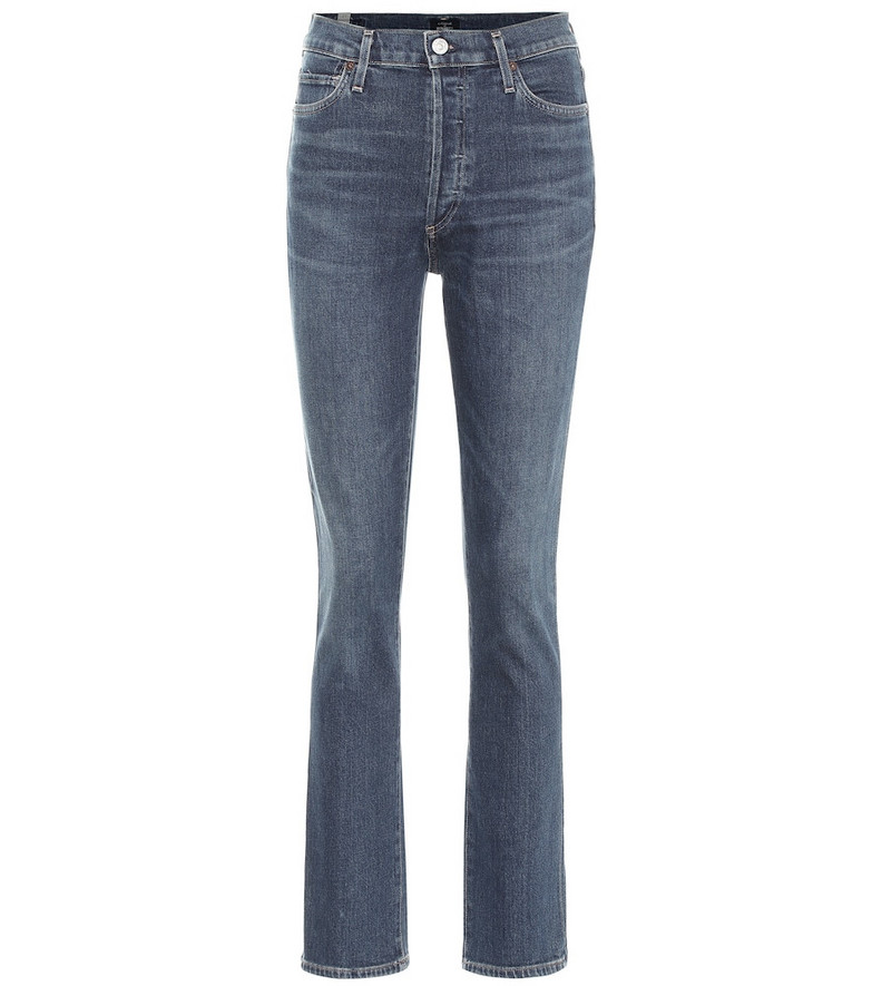 Citizens of Humanity Olivia high-rise slim jeans in blue