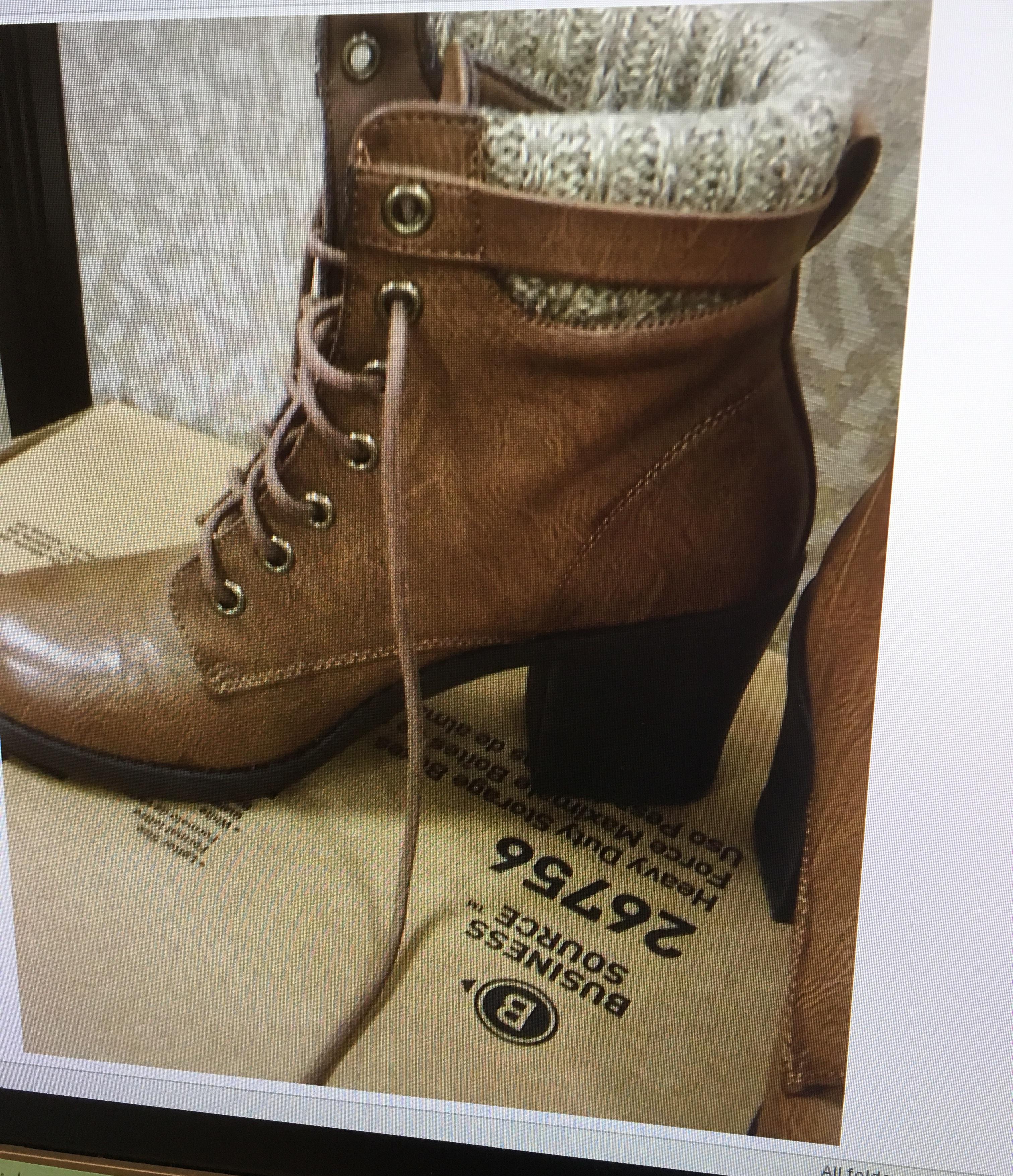 shoes faux leather light boots