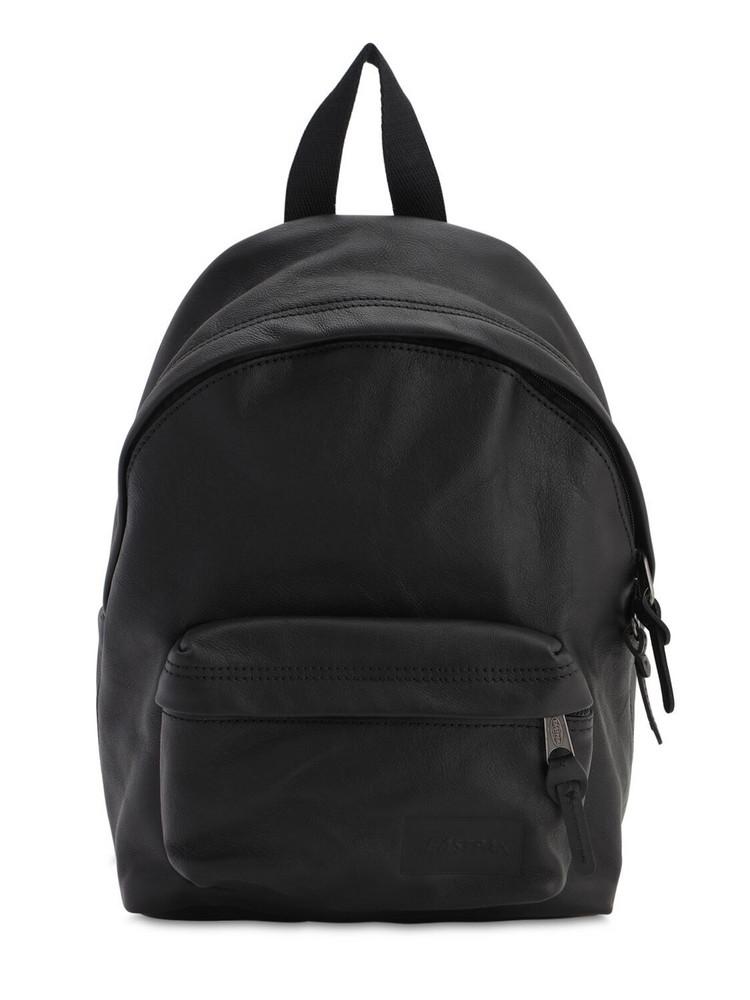 EASTPAK 10l Orbit Leather Backpack in black