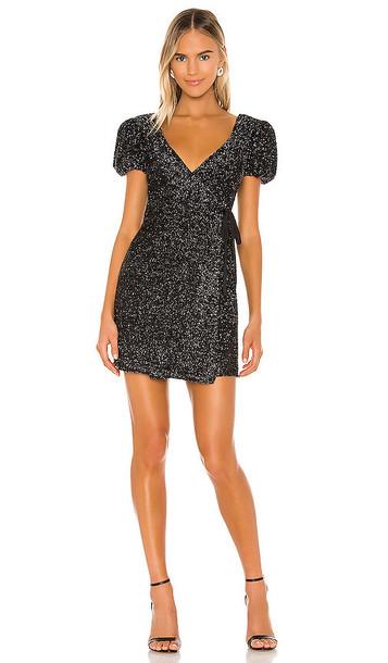 Lovers + Friends Lovers + Friends Giana Mini Dress in Black