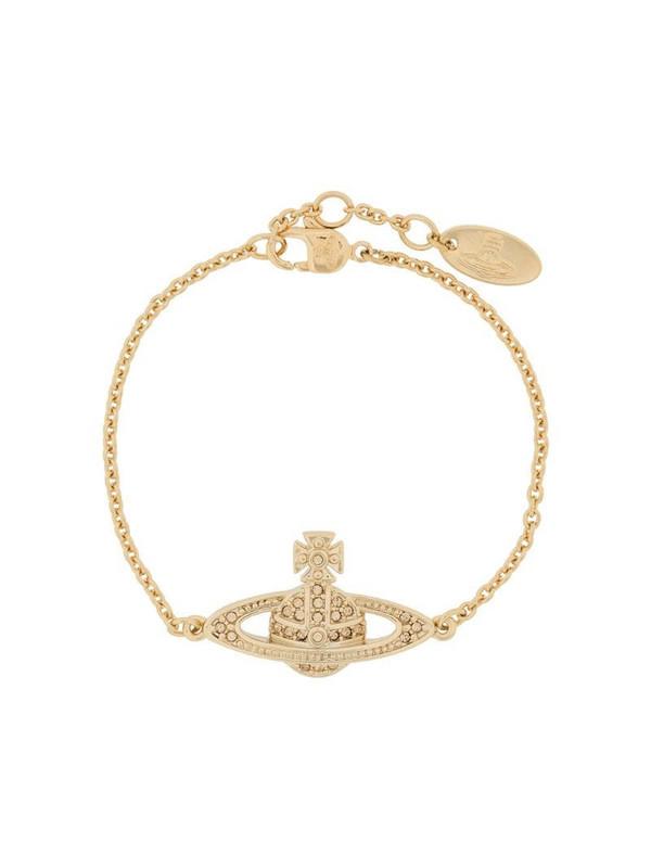 Vivienne Westwood Relief logo bracelet in gold