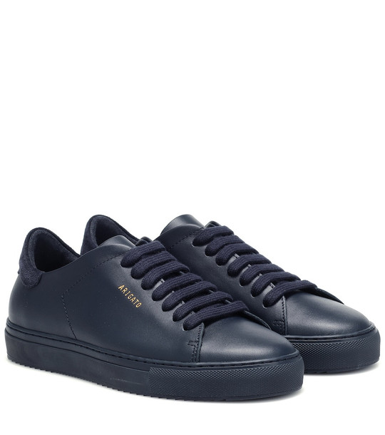 Axel Arigato Clean 90 leather sneakers in blue