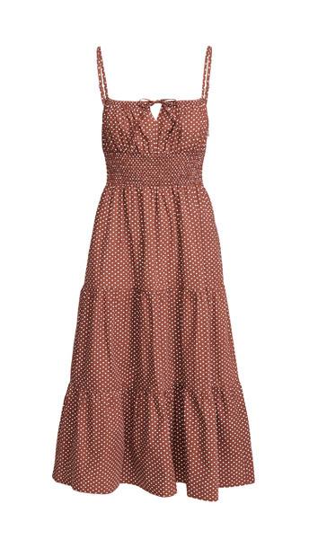 FAITHFULL THE BRAND Canyon Midi Dress in print